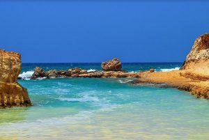 חופים באיה נאפה לגונה הכחולה