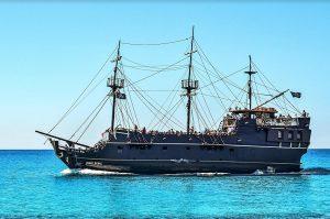 ספינת פיראטים באיה נאפה